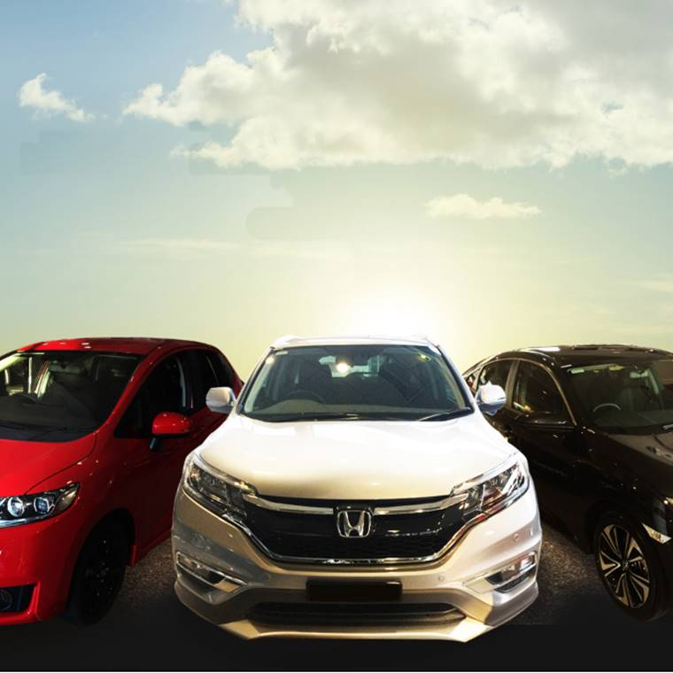 Win A Brand New Honda with Tomorro