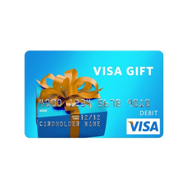 Win a $50 Visa Gift Card