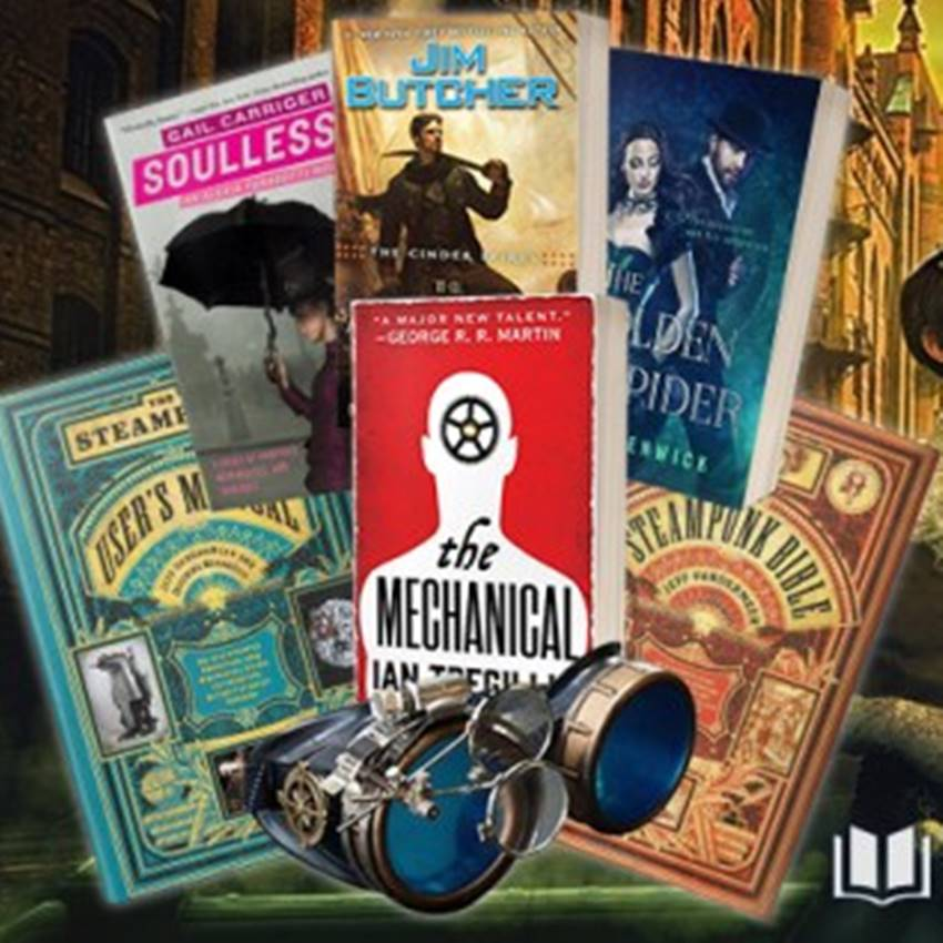 Win a Steampunk Book Collection