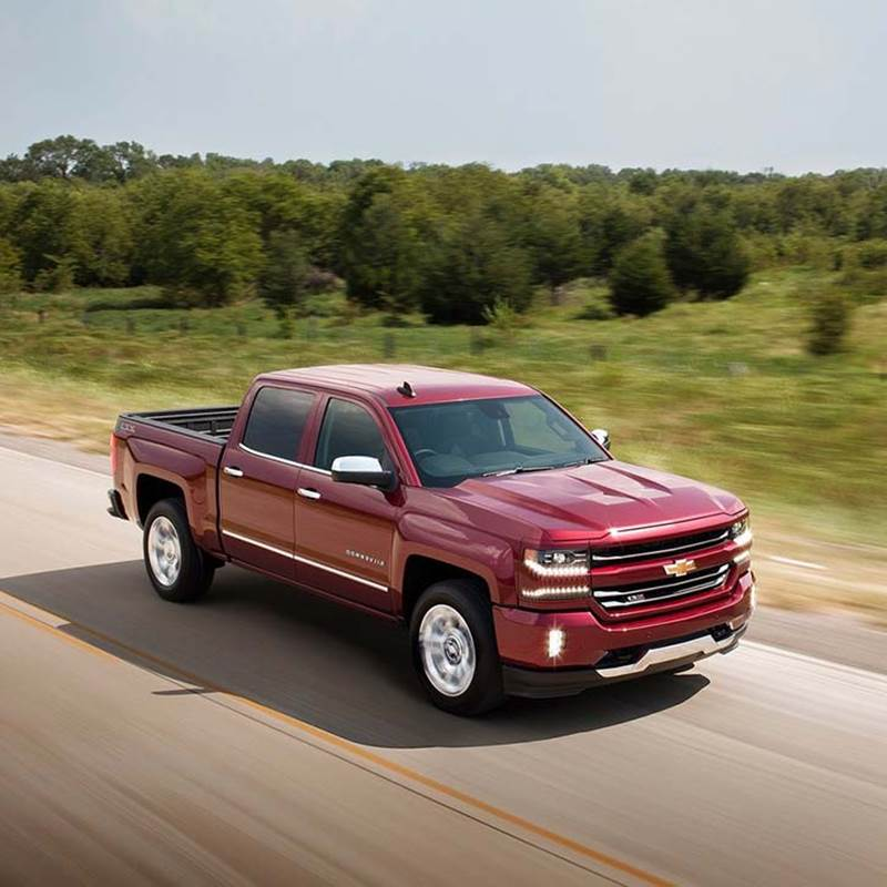 Win a new 2018 Chevy Silverado