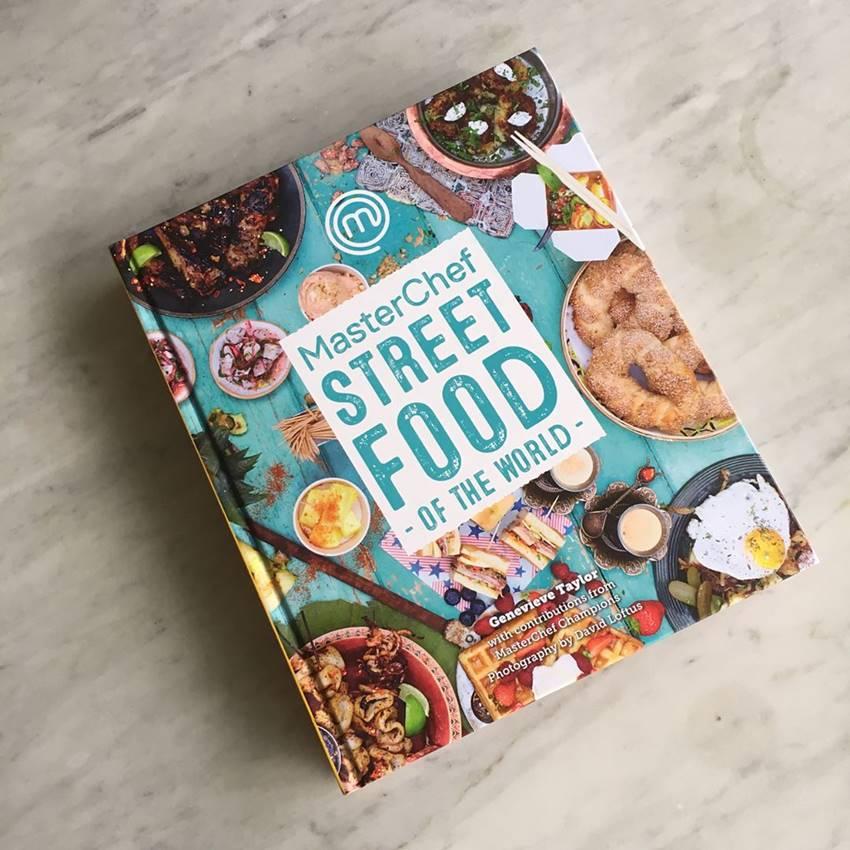 WIN A MasterChef Street Food Of The World Cookbook!