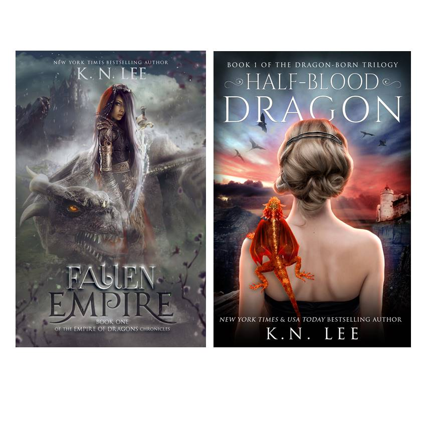 Win a Fallen Empire Epic Fantasy Kindle & Dragon Swag
