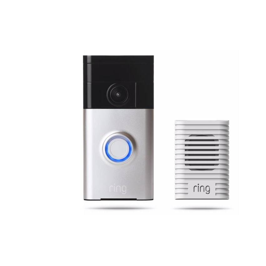 Win A Ring Video Doorbell And Chime System