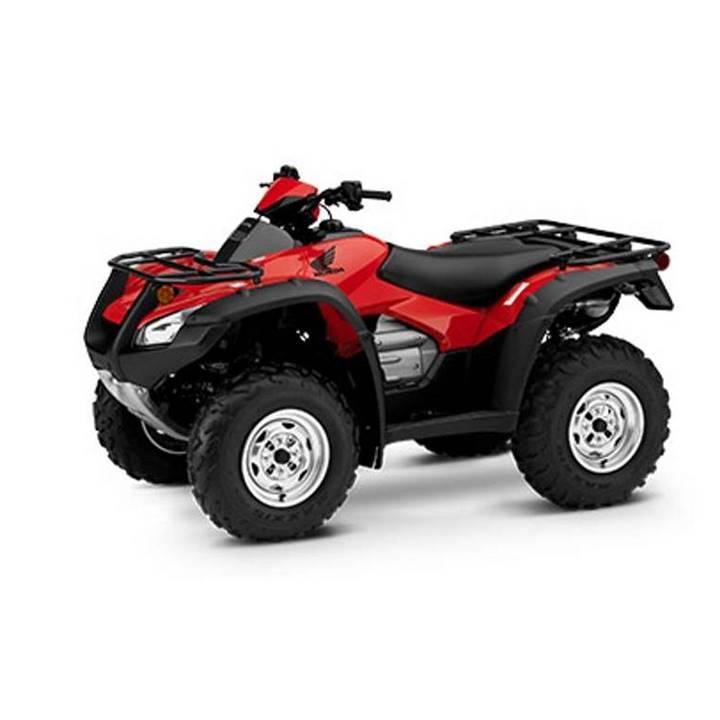 Win a Honda FourTrax Rincon ATV