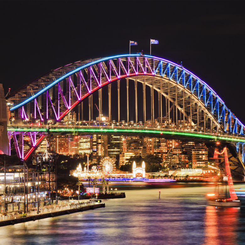 WIN a Redballoon Experience with the Vivid Sydney Bridge Climb!