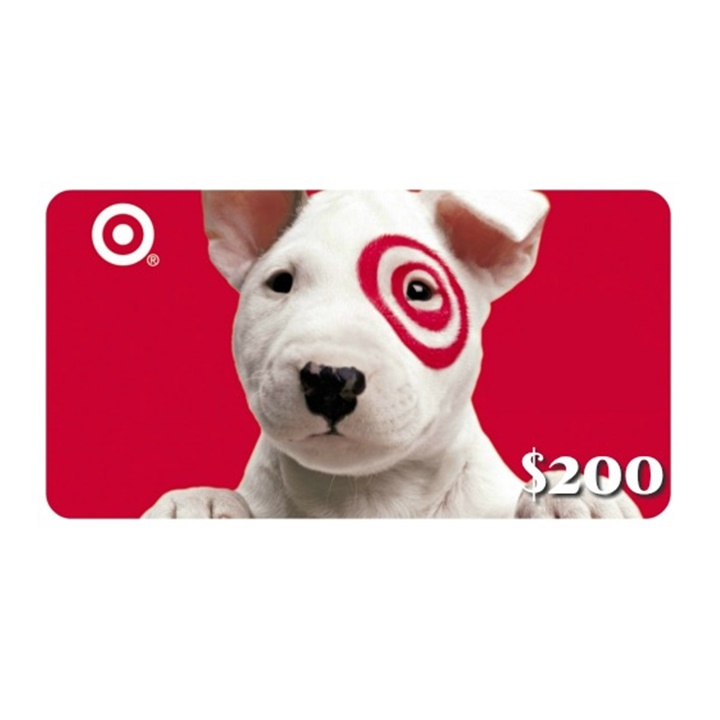 Win a $200 Target Gift Card