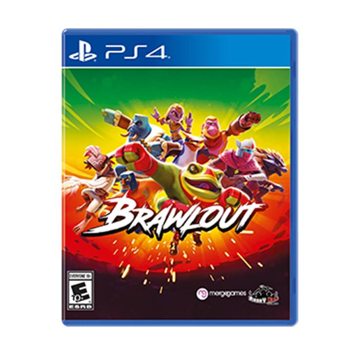 Win a Brawlout Custom PS4™PRO Console