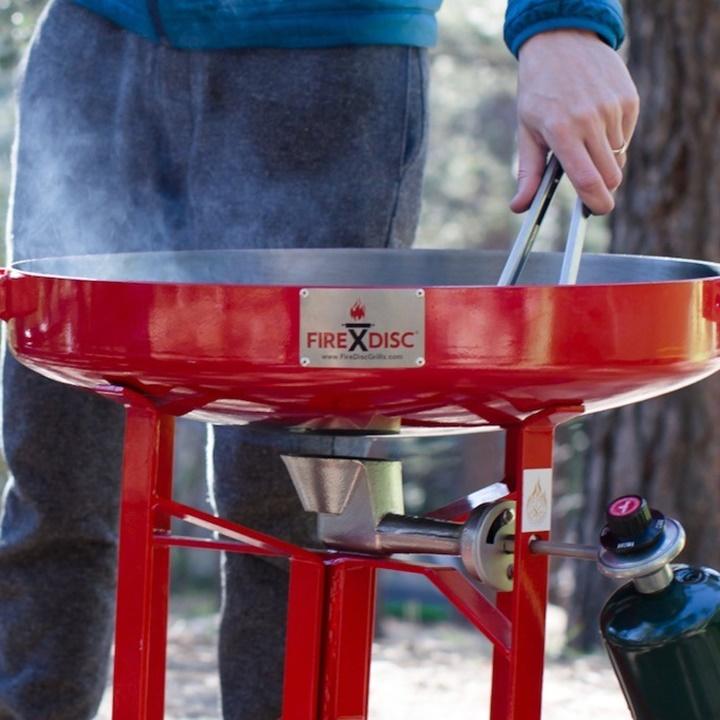 WIin a FIREDISC® Tall Portable Cooker