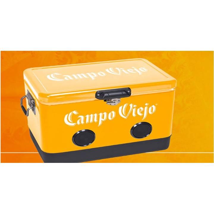 Win a Campo Viejo Branded Orange Speaker Cooler