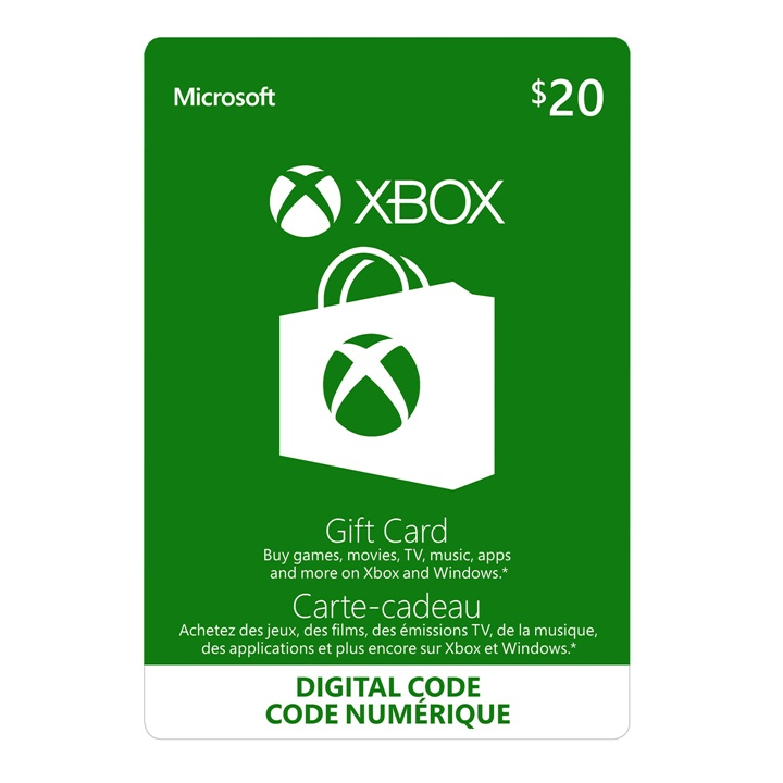 Win a $20 Xbox Gift Card