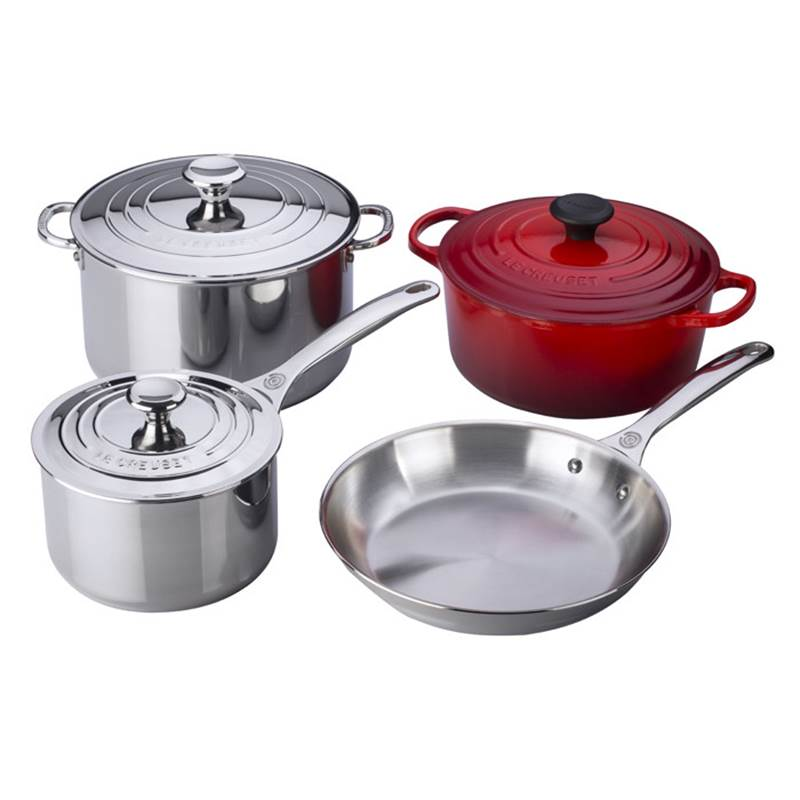 Win a Le Creuset Cerise 4-Piece Set