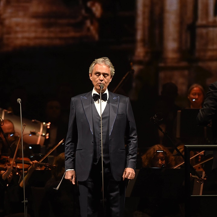 Win a Trip for 2 to Italy to Meet Andrea Bocelli for Drinks and a Private Show