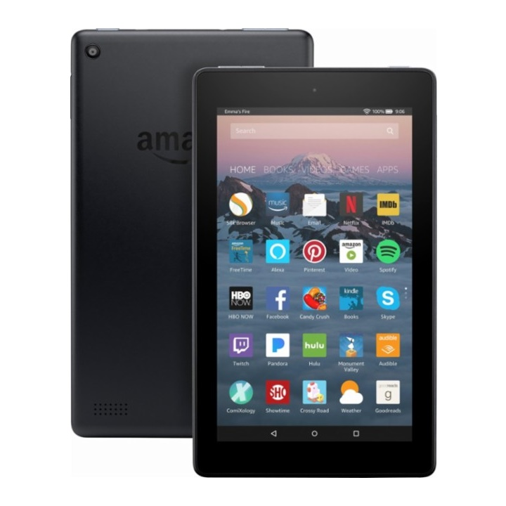 Win a Kindle Fire 7 or $50 Amazon Gift Card