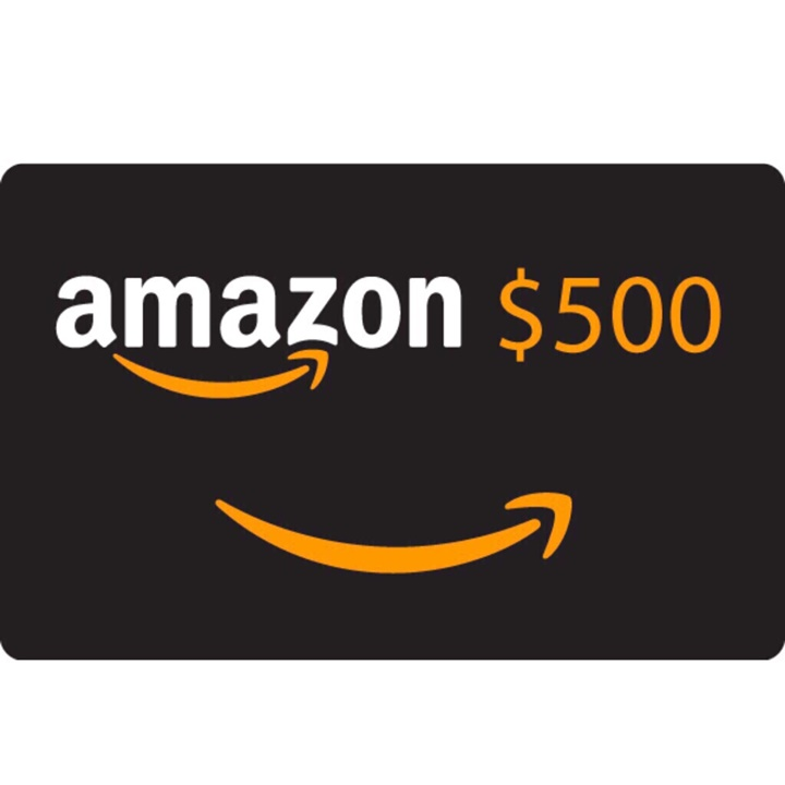 Win a $500 Cash Or Amazon Gift Card