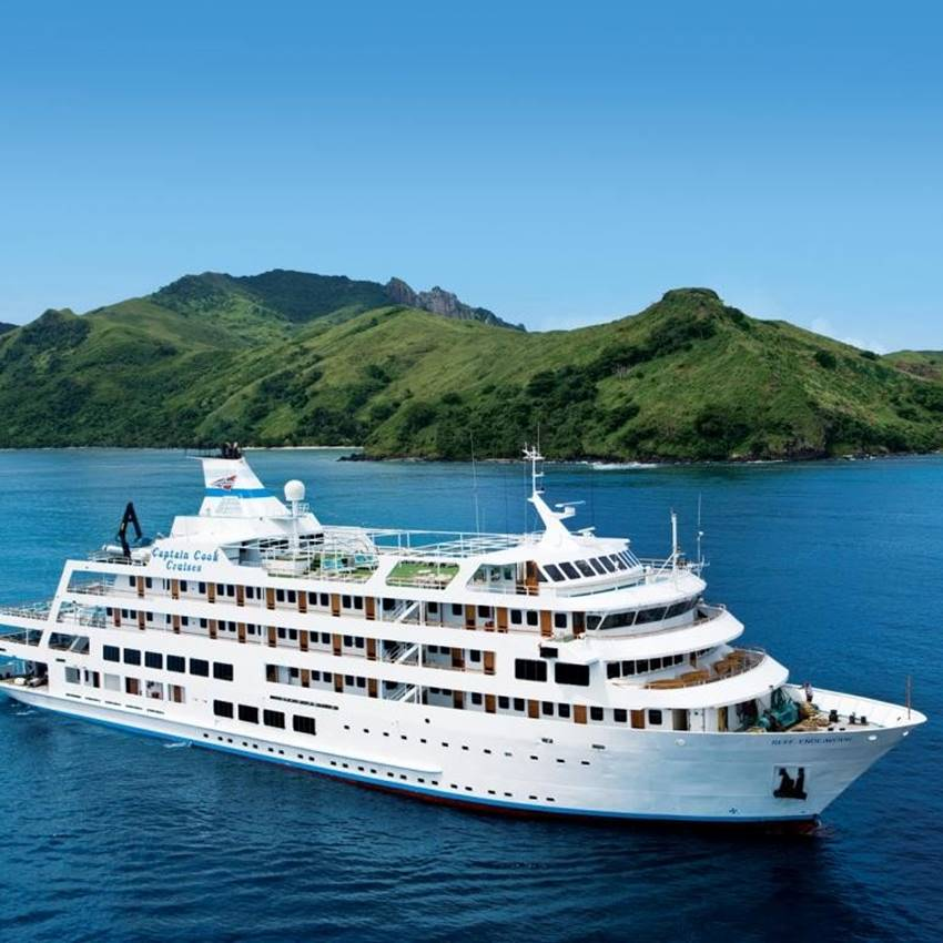 Win A Captain Cook Fijian Cruise Package!