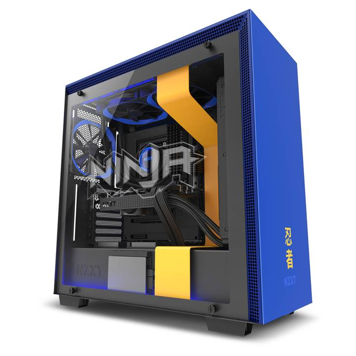 Win a 1 of 2 NZXT H700i Ninja Edition PC's