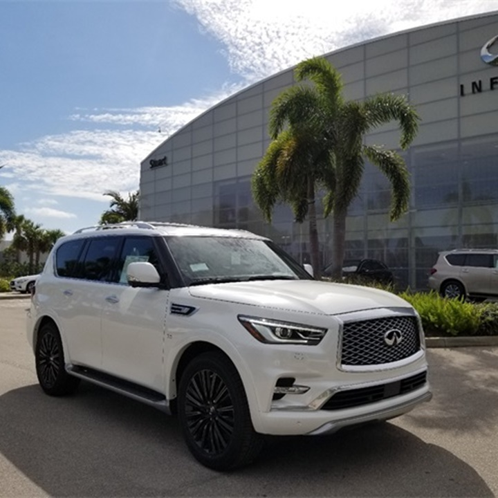 Win a Infiniti® 2019 QX80 LIMITED SUV or $55,200 USD Cash