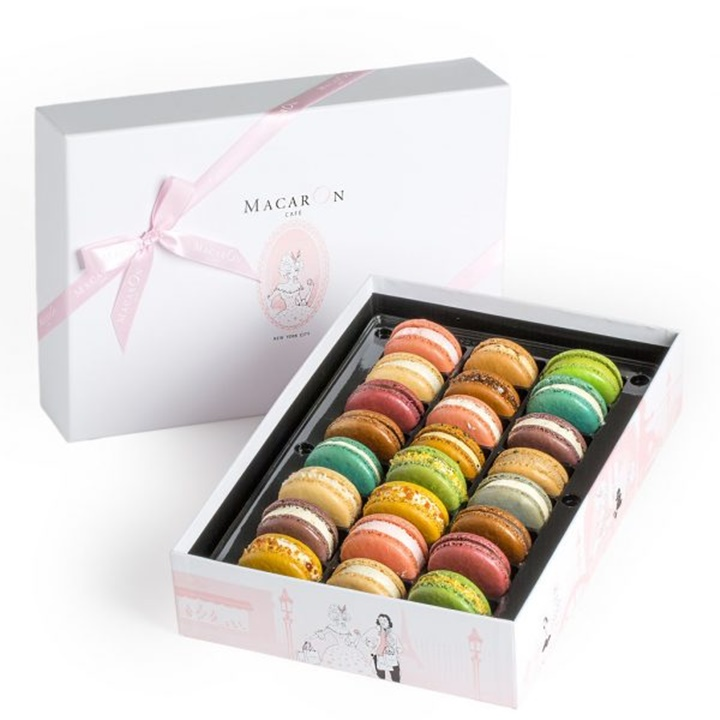 Win a Macarons from Macaron Cafe + Copy of Paris Writers Circle