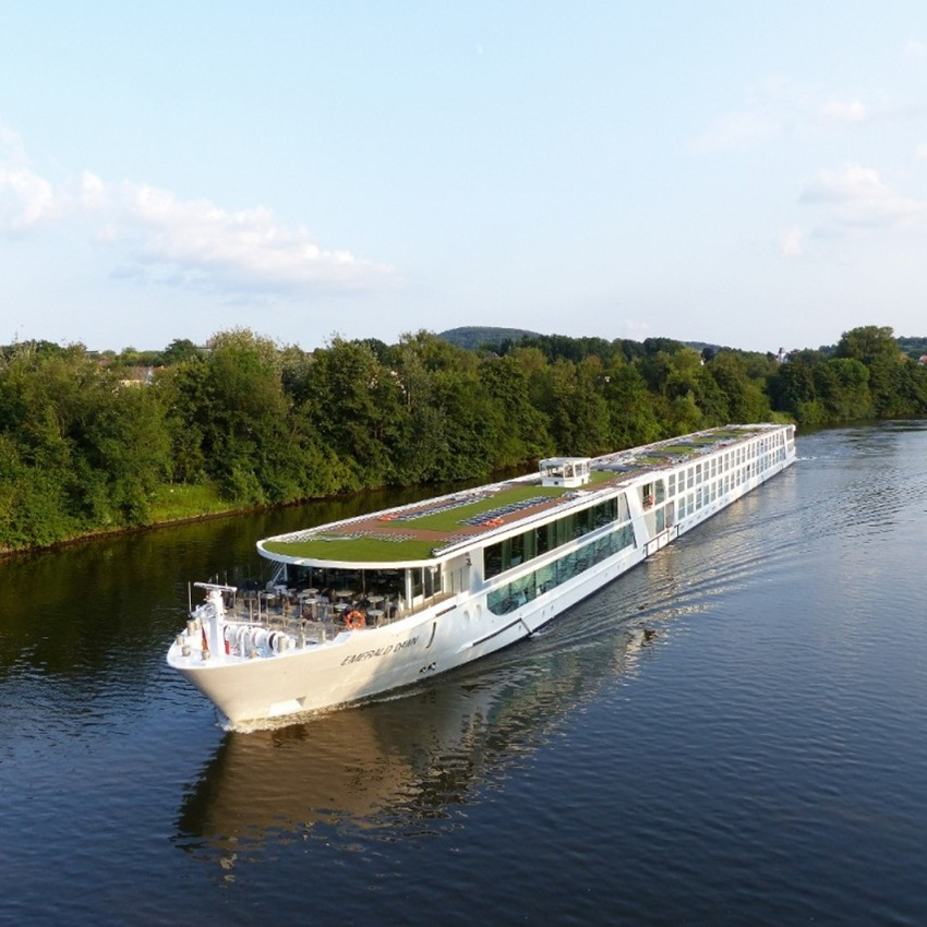 Win A 15 Day Deluxe Evergreen River Cruise