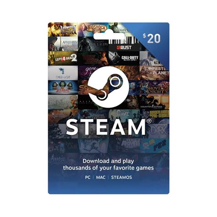 Win a $20 Steam Gift Card