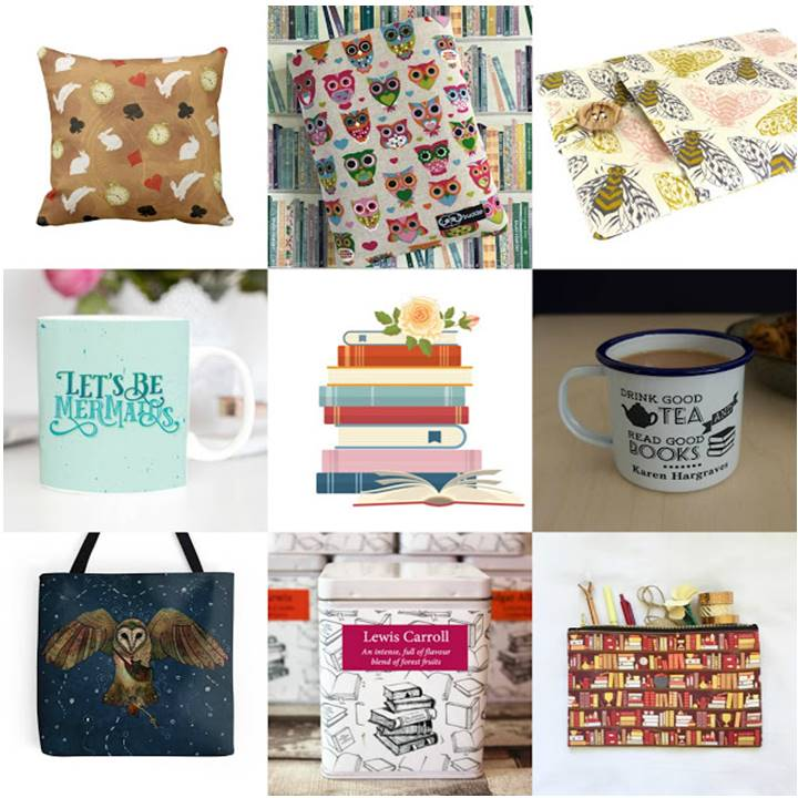 Win a Books of choice and bookish Etsy gifts