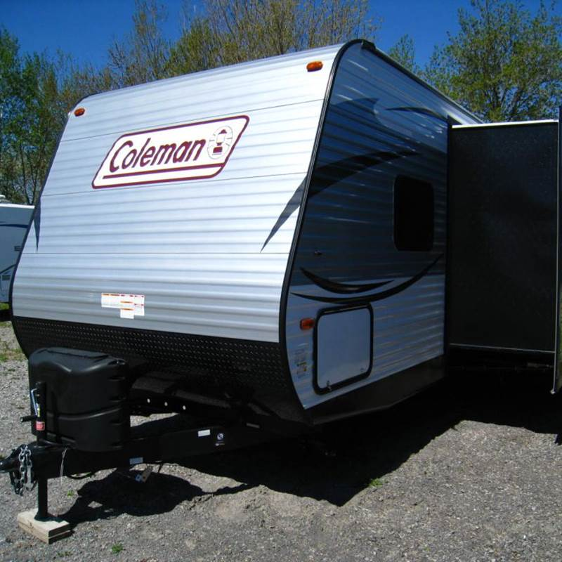 Win a 2017 Coleman Travel Trailer