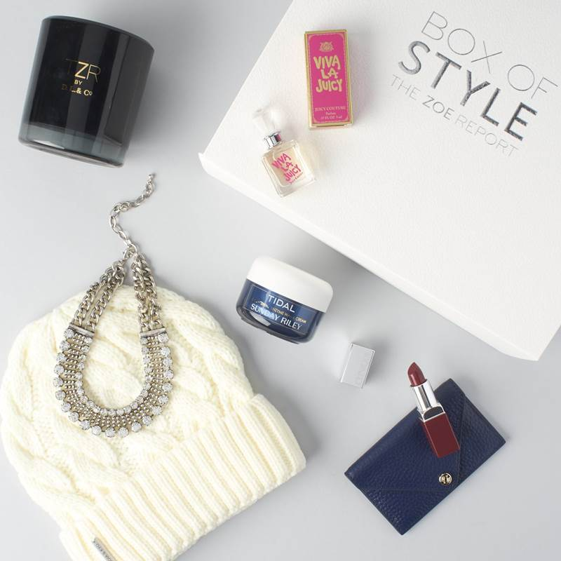 "Win a Spring 2017 edition of The Zoe Report ""Box of Style"""