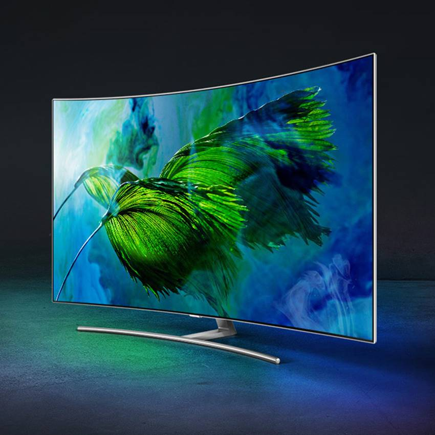 Win A Samsung Q8C QLED TV
