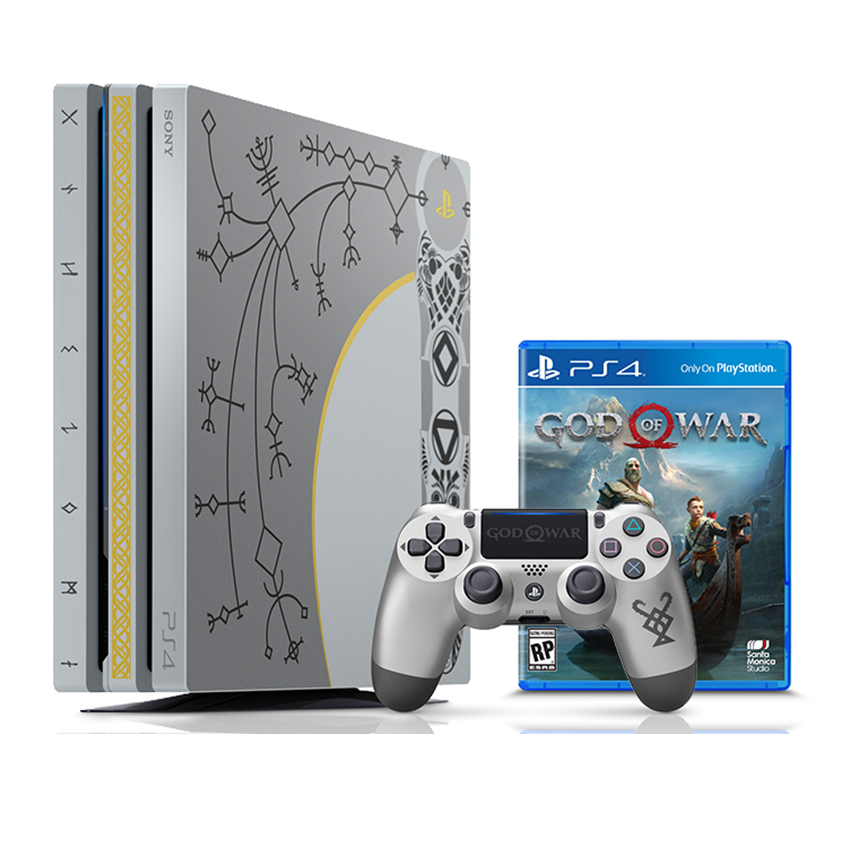 Win a Limited Edition God of War + PS4 Pro Bundle