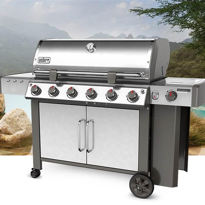 Win a Webber® Genesis® II LX S-640™ LP Gas Grill