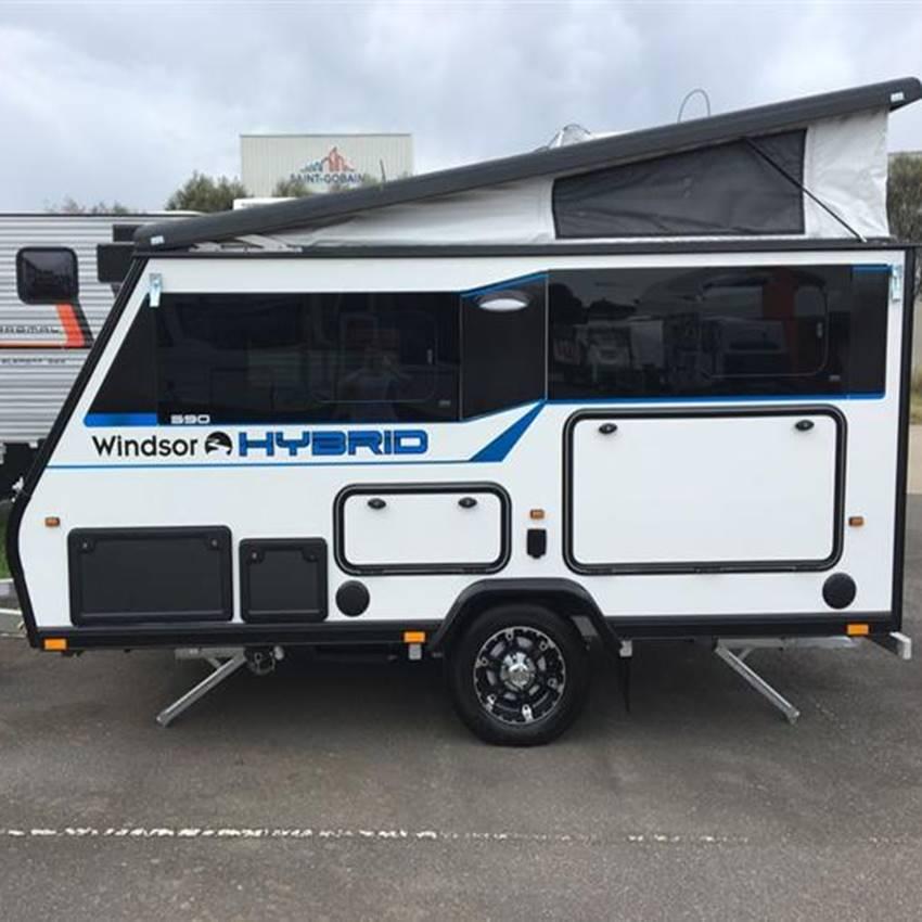Win A Windsor Hybrid Camper Trailer!