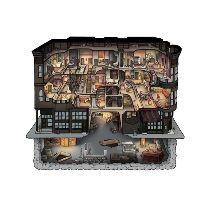 Win a H. H. Holmes' Murder Castle Board Game