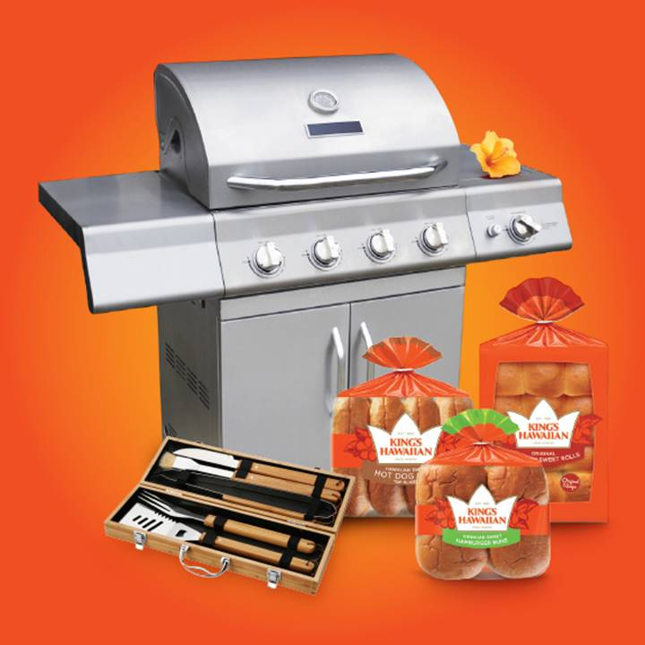 Win a KING'S HAWAIIAN® Summer Grilling