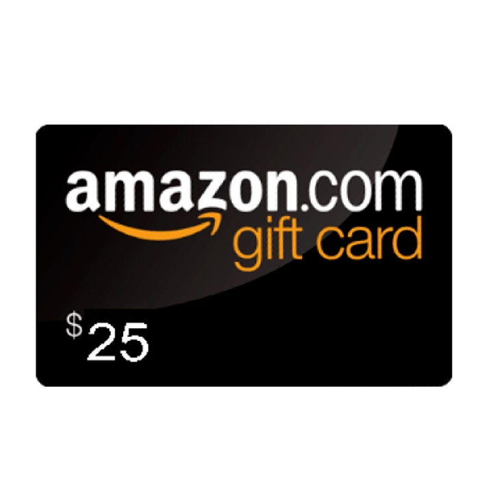 Win a $25 Amazon Giftcard