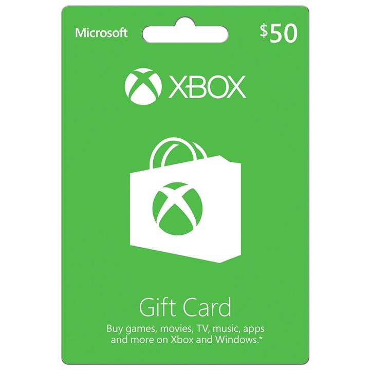 Win a $50 XBox Gift Card