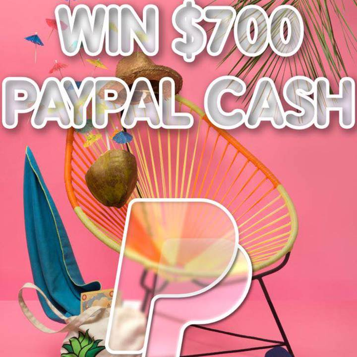 Win a $700 PayPal Cash