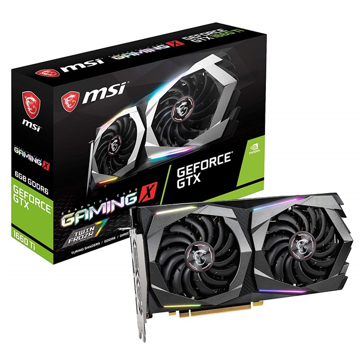 Win a MSI GeForce GTX 1660 Graphics Card