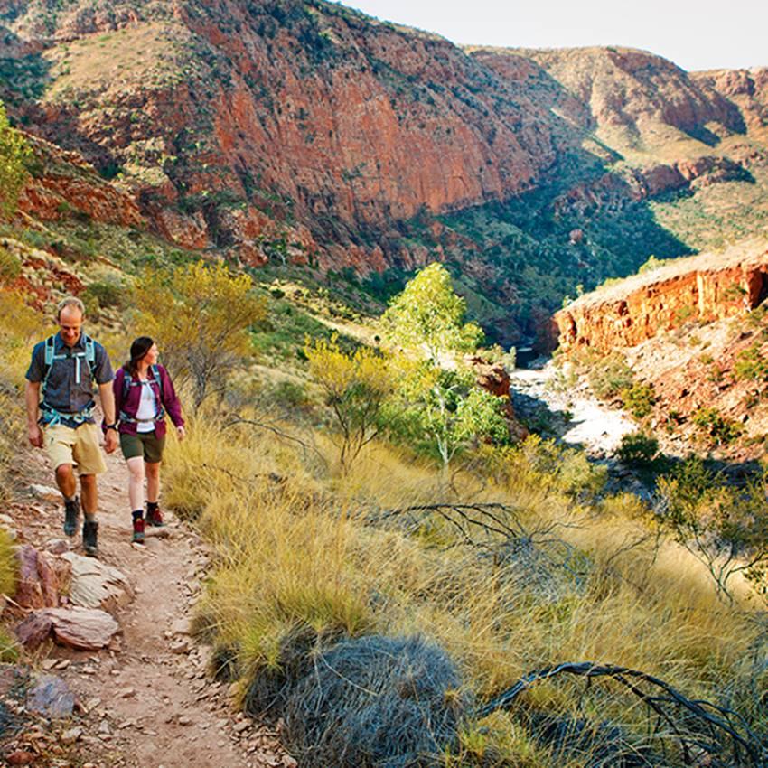 Win A 7-Day Trek On The Breathtaking Larapinta Trail In Central Australia!