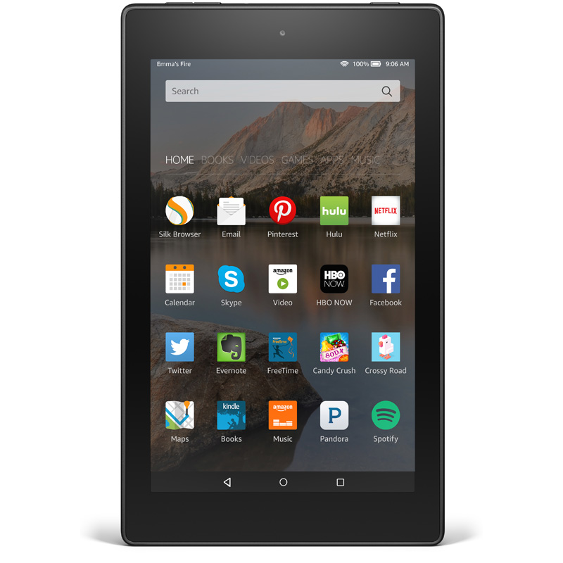 Win a Kindle Fire HD 8 Tablet