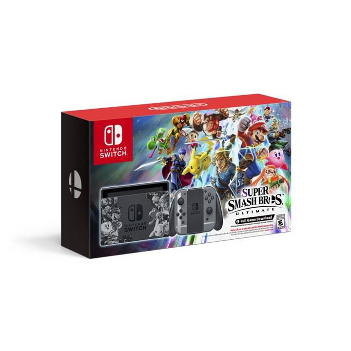 Win a Smash Bros. Ultimate Nintendo Switch Bundle