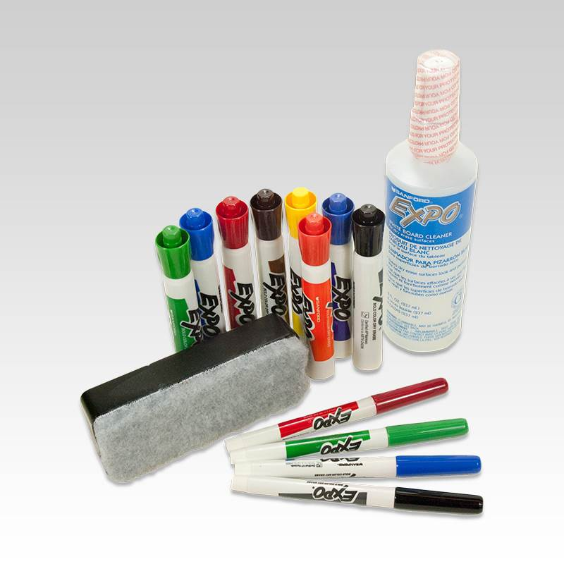 Win a EXPO Dry Erase Board And Markers.