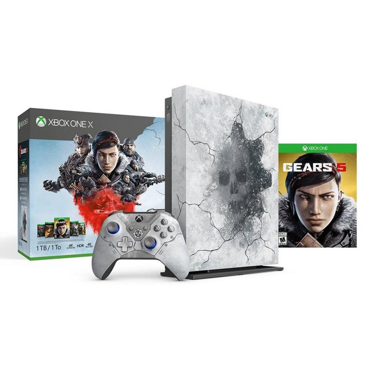 Win a Xbox One X Gears 5 Limited Edition Bundle