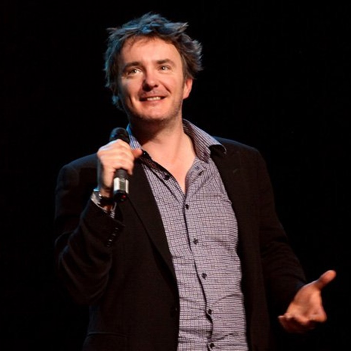 Win a Dylan Moran: Dr Cosmos Show