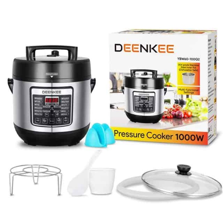 Win a Deenkee Pressure Cooker or Amazon Gift Card