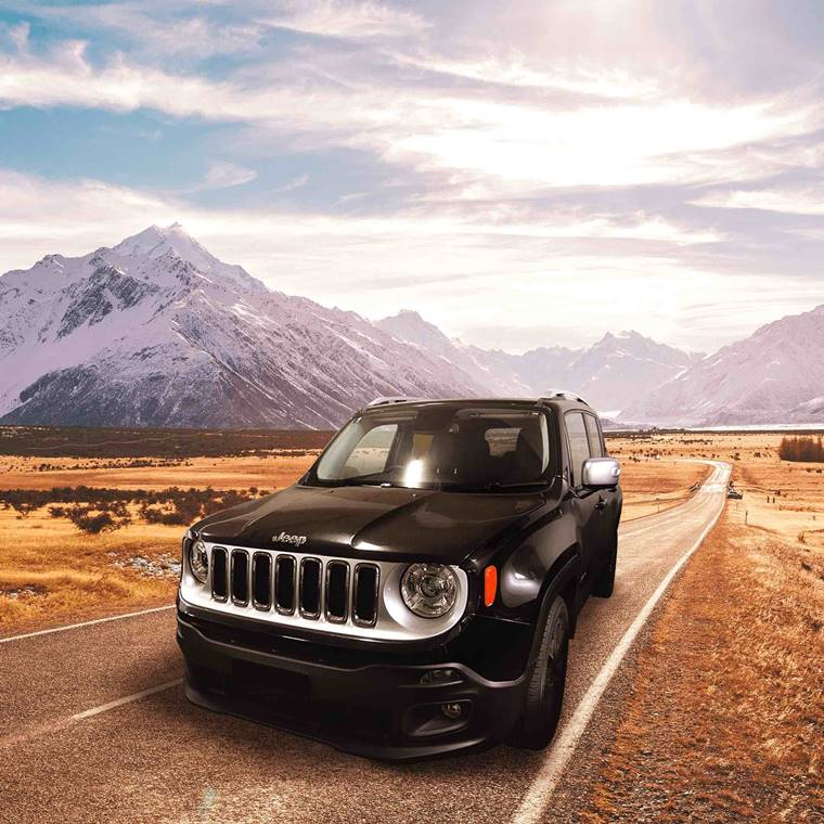 Win A Brand New Jeep Renegade