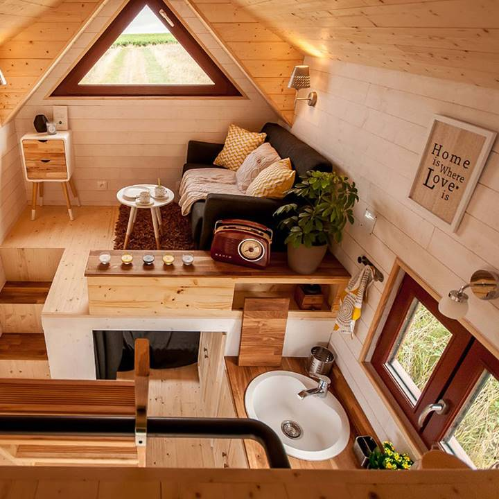 Win a Tiny House Furnished by Cost Plus World Market