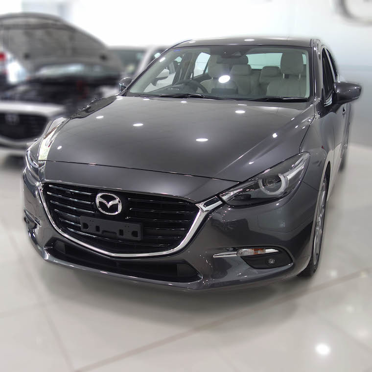 Drive away in a brand new Mazda!