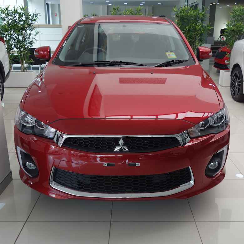 Drive away in a brand new Mitsubishi!