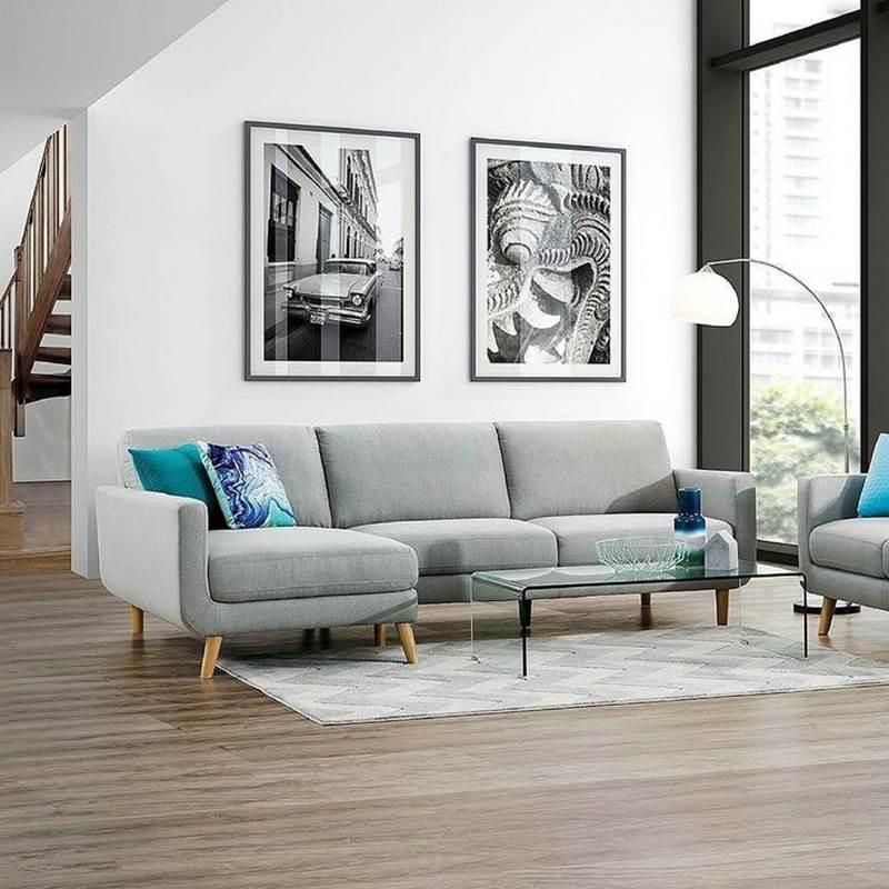 Win a Phoebe Fabric Sofa Chaise Pair