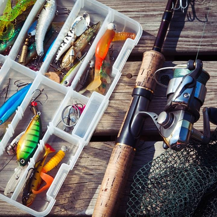 Win a Fishing Equipment